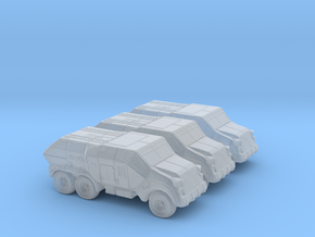 Sci Fi Transport Vehicles (3 included) – 6mm in Smoothest Fine Detail Plastic