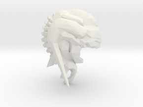 Cacodemon Doom3 1/60 miniature for games rpg in White Natural Versatile Plastic