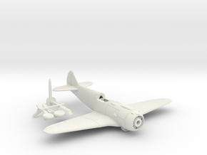 1/144 Lavochkin La-5 in White Strong & Flexible: 1:144