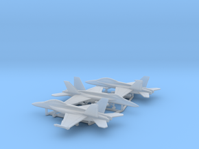 1/400 US Fighters pack 4 in Smooth Fine Detail Plastic