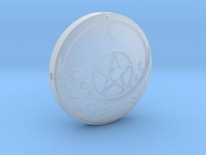 Sailor Moon Transformation Brooch Pt1 in Smooth Fine Detail Plastic