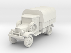 Marmon-Herrington 2-axles 1:87 in White Natural Versatile Plastic