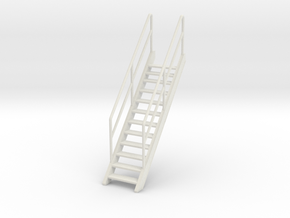 1/24 YTB Tugboat Ladders in White Natural Versatile Plastic