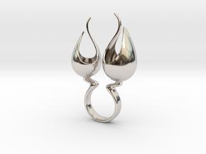Trocho - Bjou Designs in Rhodium Plated Brass