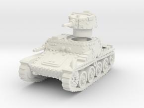 Praga R1 Tank 1/56 in White Natural Versatile Plastic