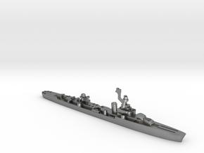 French cruiser Émile Bertin c1943 WW2 1:1800 in Natural Silver