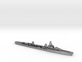 French cruiser Émile Bertin c1942 WW2 1:2400 in Natural Silver