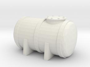 Petrol Tank 1/144 in White Natural Versatile Plastic