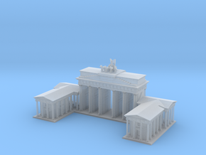 Brandeburg Gate 1/1000 in Smooth Fine Detail Plastic