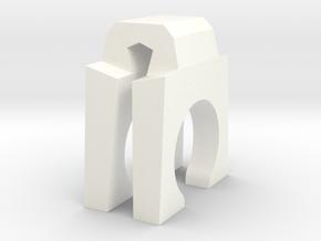 Part ChrTre in White Processed Versatile Plastic
