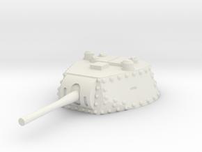 M13 40 Turret 1/35 in White Natural Versatile Plastic