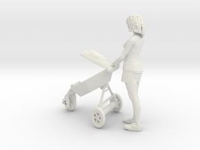 Printle T Femme 1806 - 1/24 - wob in White Natural Versatile Plastic