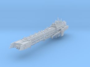 Imperial Legion Long Battle-Barge - Armament Conce in Smooth Fine Detail Plastic