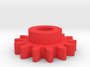 Odometer Gear  for VW/Scirocco MK1 in Red Processed Versatile Plastic
