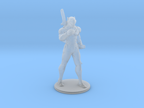 Overwatch Genji Ninja miniature for games and rpg in Smooth Fine Detail Plastic