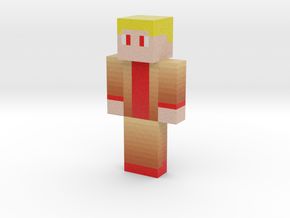 GoldChopper | Minecraft toy in Natural Full Color Sandstone