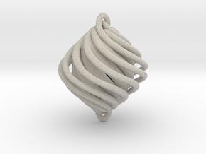Twist Pendant in Natural Sandstone