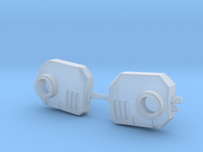 Jet pack mounts, several variants in Smooth Fine Detail Plastic: d3