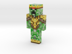 TurboKnight | Minecraft toy in Natural Full Color Sandstone