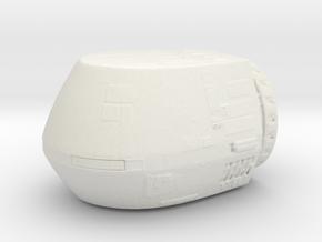 Starfleet Travel Pod  in White Natural Versatile Plastic