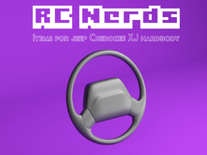 RCN225 Steering Wheel for Jeep XJ Hardbody  in White Natural Versatile Plastic