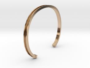 Mens Bracelet 4.0 in 14k Rose Gold Plated Brass