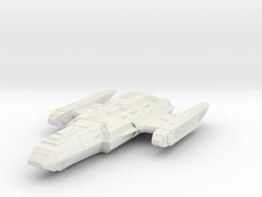 "Federation Raven Class 1.4"" in White Natural Versatile Plastic"