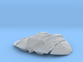 BSG Cylon Raider mk1 flight in Smoothest Fine Detail Plastic: 1:400