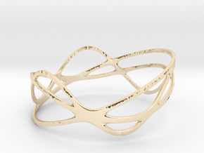 Harmonic Bracelet (67mm) in 14K Yellow Gold