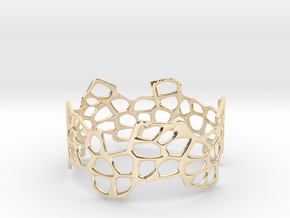 Cells Bracelet (67mm) in 14K Yellow Gold