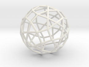 77hedron in White Natural Versatile Plastic