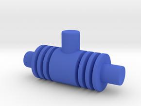 Mecha Acroyear Waist Joint in Blue Processed Versatile Plastic