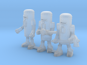 Dr. Satan's Robot Squad in Smooth Fine Detail Plastic: Small
