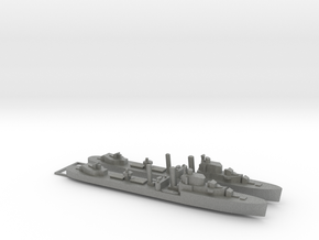 2pk with sprue Intrepid class 1:1200 WW2 destroyer in Gray PA12