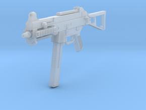 1/12th UMP45gun in Smooth Fine Detail Plastic