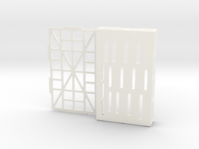 Template Stand in White Processed Versatile Plastic