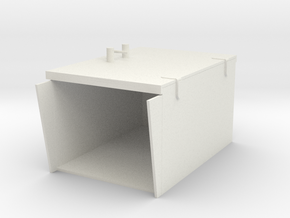 2 cm Closed Ammo boxes 1 to 40 in White Natural Versatile Plastic