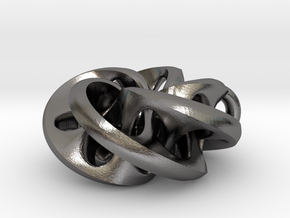 Moebius II, pendant in Polished Nickel Steel