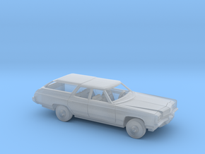 1/87 1972 Chevrolet Kingswood Station Wagon  in Smooth Fine Detail Plastic