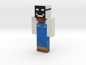 | Minecraft toy in Natural Full Color Sandstone