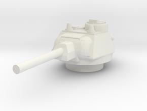 T34.76 1944 Turret 1/48 in White Natural Versatile Plastic