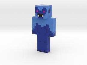 minecraft sasquatch FINAL | Minecraft toy in Natural Full Color Sandstone