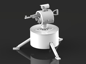 Rust Auto Turret in White Natural Versatile Plastic