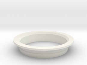 Gemini Helmet Inner Bearing in White Natural Versatile Plastic