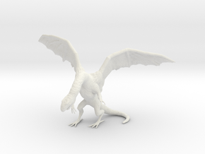Q: The Winged Serpent in White Natural Versatile Plastic