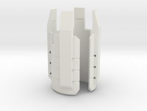 Emitter Shroud - Acolyte in White Strong & Flexible