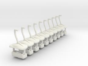 slyway tubs ten pac in White Natural Versatile Plastic
