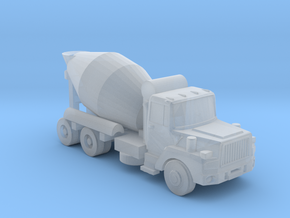 Mack Cement Truck - Z scale in Smooth Fine Detail Plastic