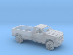 1/160 2019 Chevrolet Silverado Reg Cab LongBed Kit in Smooth Fine Detail Plastic