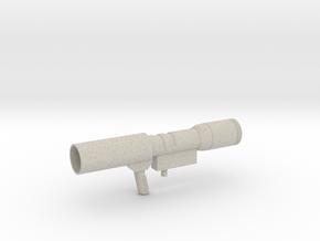 Megatron Gun in Natural Sandstone